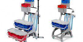 Partek HL120 & HL240 – Modular Hygiene Trolleys