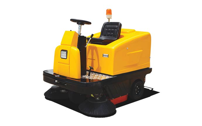 ND-ICE-RS-C200 Heavy Duty Ride On Industrial Sweeper