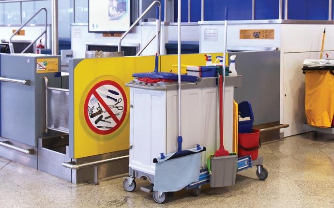 Green cleaning at Mumbai Airport: