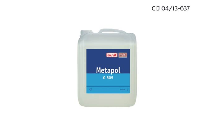 Maintaining metal surfaces with Metapol