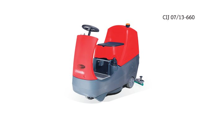 Compact Ride-On Scrubber Drier – CRO 8055