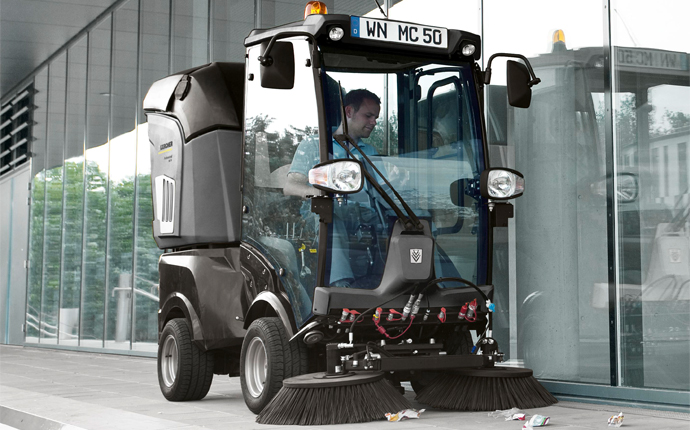 Large-scale cleaning in the Smart City of the future