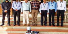 Students develop tile polishing robot