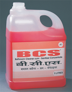 BCS  A1 Bathroom Cleaner Cum Sanitizer Concentrate