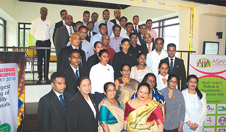 Asian Housekeepers Association heads meet Sri Lankan Housekeepers at Colombo