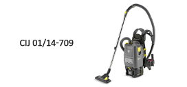 Karcher Cleaning Systems Pvt. Ltd Battery-powered backpack vacuum