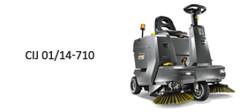 Ride-on sweepers Compact, agile and convenient Ride-on sweepers