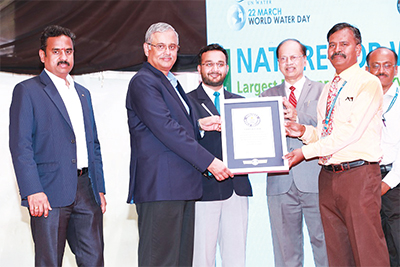 L&T enters the GUINNESS WORLD RECORDS books