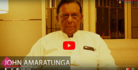 Exclusive Interview with Hon'ble Minister John Amaratunga