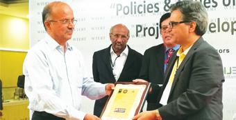 LTA award for Avante Garde's K. Ragothaman