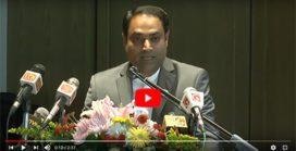Hari Krishnan representing the Asian Housekeepers Association at Shangri-La Hotel, Colombo