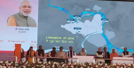 7.8cr lt/day sewer waste falling into Ganga reduced