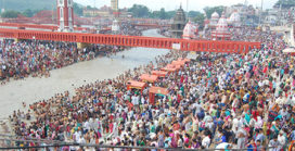 New toilets for Kumbh Mela