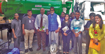 Amitabh Bachchan donates sewer cleaning machines