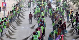 Sanitation workers set Guinness record at Kumbh