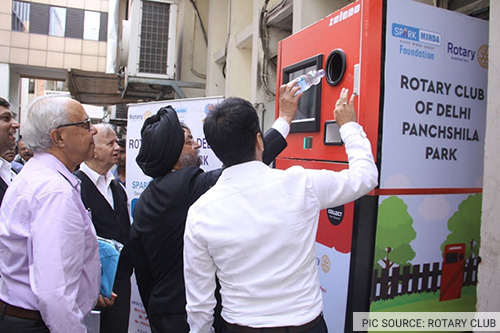 Reverse Vending Machine in Delhi High Court
