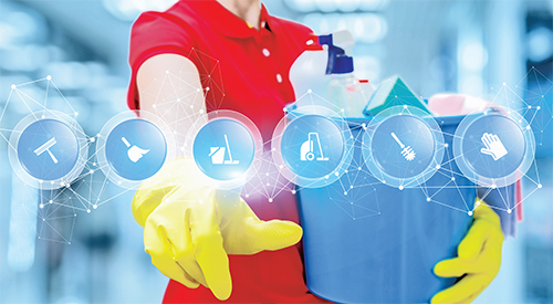 Using Apps in Professional Cleaning