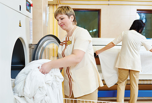 Maximising Productivity in Hotel Laundries