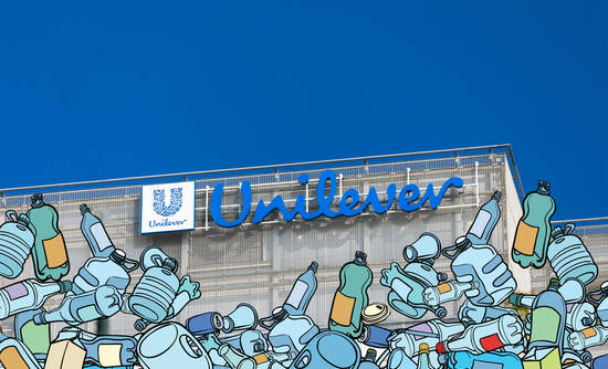Unilever campaign on reducing plastic waste